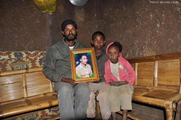Alem Dechasa's Family