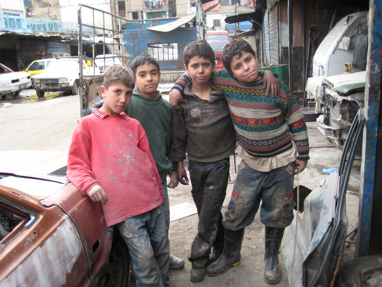 Child workers in Beirut by Mona Alami by ipsnews.net