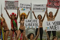 FEMEN in protest in Paris