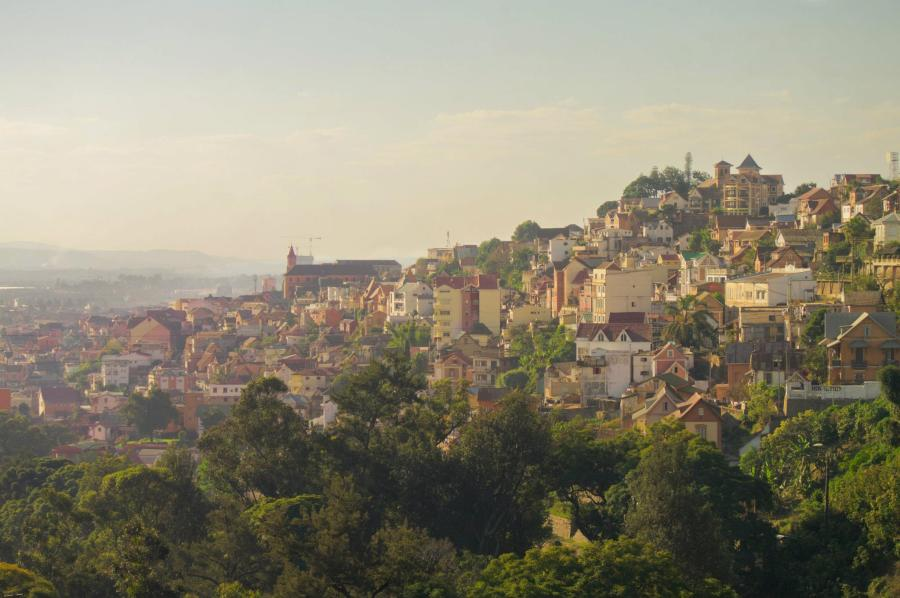 Photograph of Antananarivo. Taken by myself