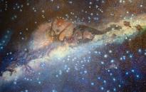 Incan depiction of the Milky, seen in Qorikancha. Taken by Myself.