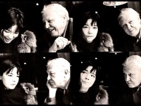 Bjork and Sir David Attenborough