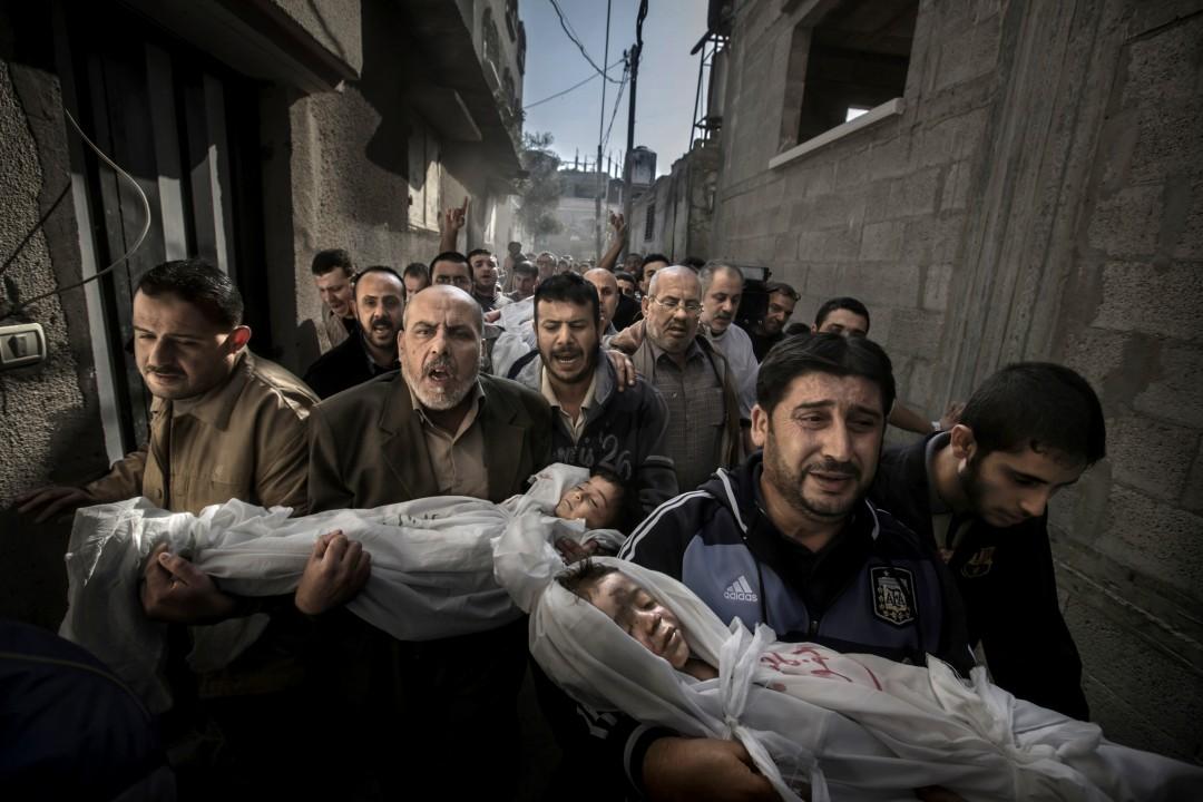 Gaza Funeral by Paul Hansen