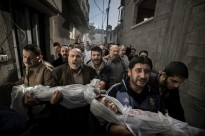 Gaza Funeral by Paul Hansen