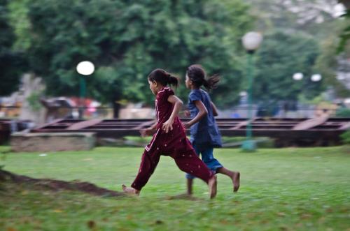 Children running taken by myself