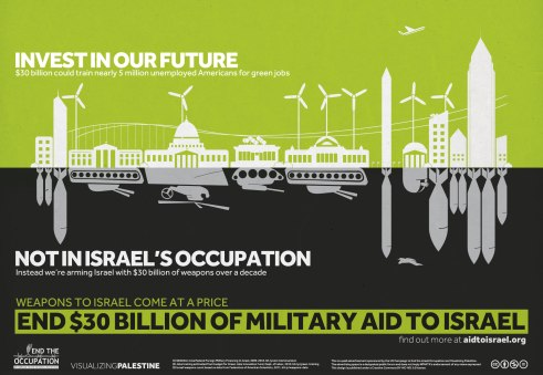 End $30 Billion of US Military Aid to Israel - Green Jobs. by Naji Elmir and Polypod, March 2013
