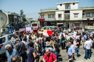 The Protest Halba, Akkar.
