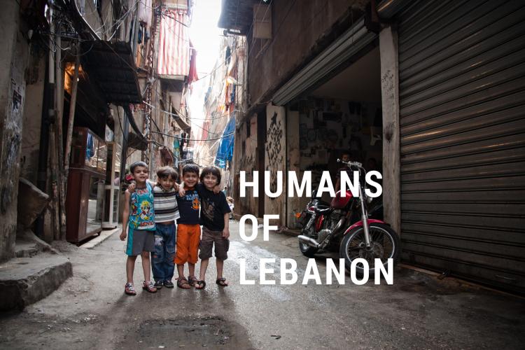 Humans of Lebanon, Shatila Camp