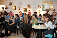 Audience listening to the discussion at AltCity on Sep 24, 2014, Beirut. Photo by Marta Bogdanska