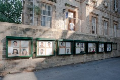 View of the Mixed Feelings exhibition in AUB, 8-14 October, 2014, Beirut. Photo by Marta Bogdanska