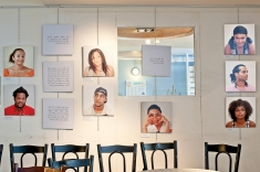 View of the Mixed Feelings exhibition at AltCity, September 24 - October 1, 2014, Beirut. Photo by Marta Bogdanska